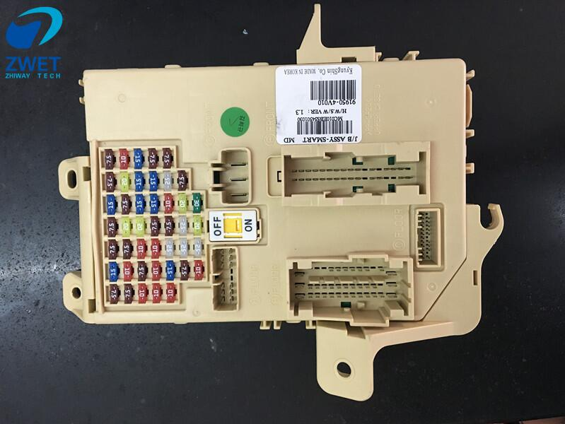zwet car fuse box block relay for ix35 junction fusebox