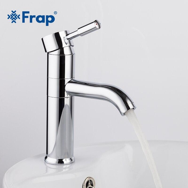 Frap 2018 Новый Ванная комната бассейна кран судно раковина для ванны холодной и горячей воды смесителя смеситель 360 Вращение Chrome 1052