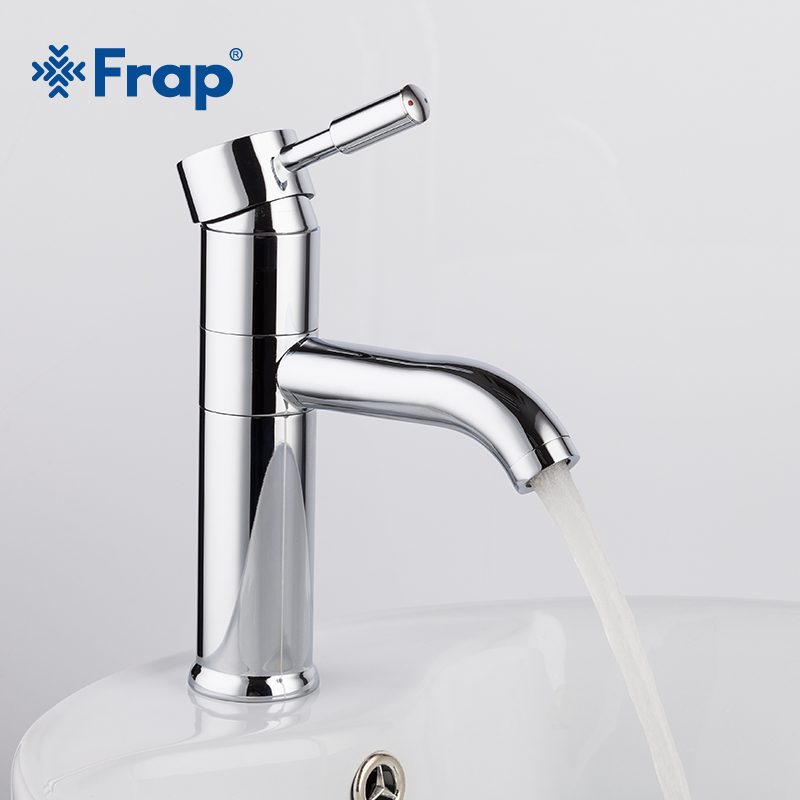 Frap 2018 new Bathroom Basin Faucet Vessel bath Sink cold and hot mixer Water Tap Solid Brass 360 Rotation Chrome Finished 1052