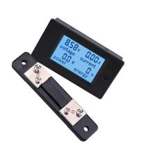 DC LCD Four-in-one Multi-function Meter 20/50/100A Digital Display Voltage Current Power Electric Energy