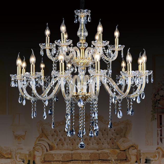 Modern Ceiling Chandelier For Kitchen Large Contemporary Crystal Chandeliers Lamp Luxury Hanging Led