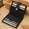 10*8*2cm Mini Unisex Genuine Leather Business Bank Card Holder Women Men Wallet Travel Case ID Credit Card Holder