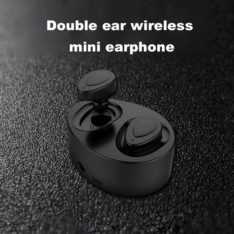 QearFun K2 Wireless Bluetooth Earphone <font><b>Tws</b></font> Mini Sport Music Headphones True Real Wireless Stereo Earphone Headphone For iPhone image