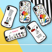 Q UNCLE Phone Case For iPhone X XR XS MAX Soft TPU Back Cover Cartoon Dog Coque 6 6S 7 8 Plus