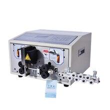 SWT508-JE Компьютер Автоматическая Зачистка контактов машина, 110 V/220 V машина для резки проводов, зачистки машина ЖК-дисплей 1 шт