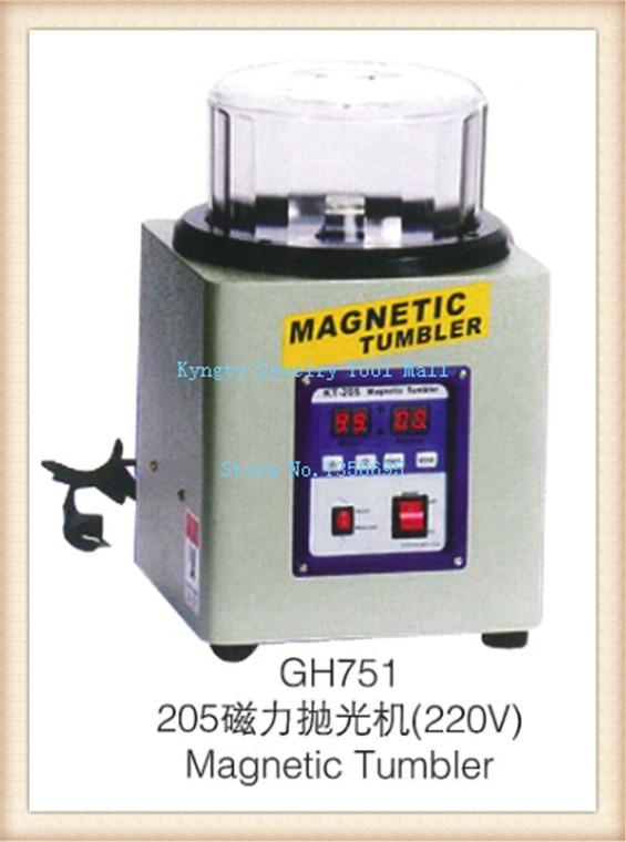 kt205 magnetic jewelry polisher jewelry polishing finishing machine,Magnetic Tumbler Polisher brand new magnetic tumbler 130mm jewelry polisher