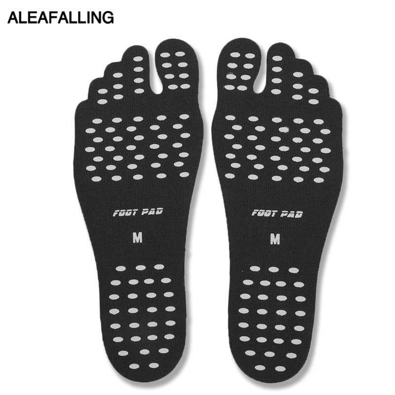 Aleafalling Soft Insoles Professional Beach Invisible Non-slip Insoles Shoe Light Shoe Gel Deodorant For Beach Insole 19105