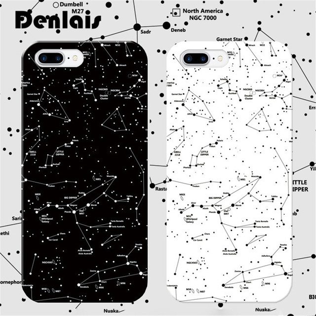 quality design 6d4e6 7a2f3 US $3.39 |Lovely Cartoon Constellation Case For iPhone 6S 7 Case Fashion  Beautiful Stars Sky Soft Phone Cases For iPhone 6Plus 7 7 Plus-in Fitted ...