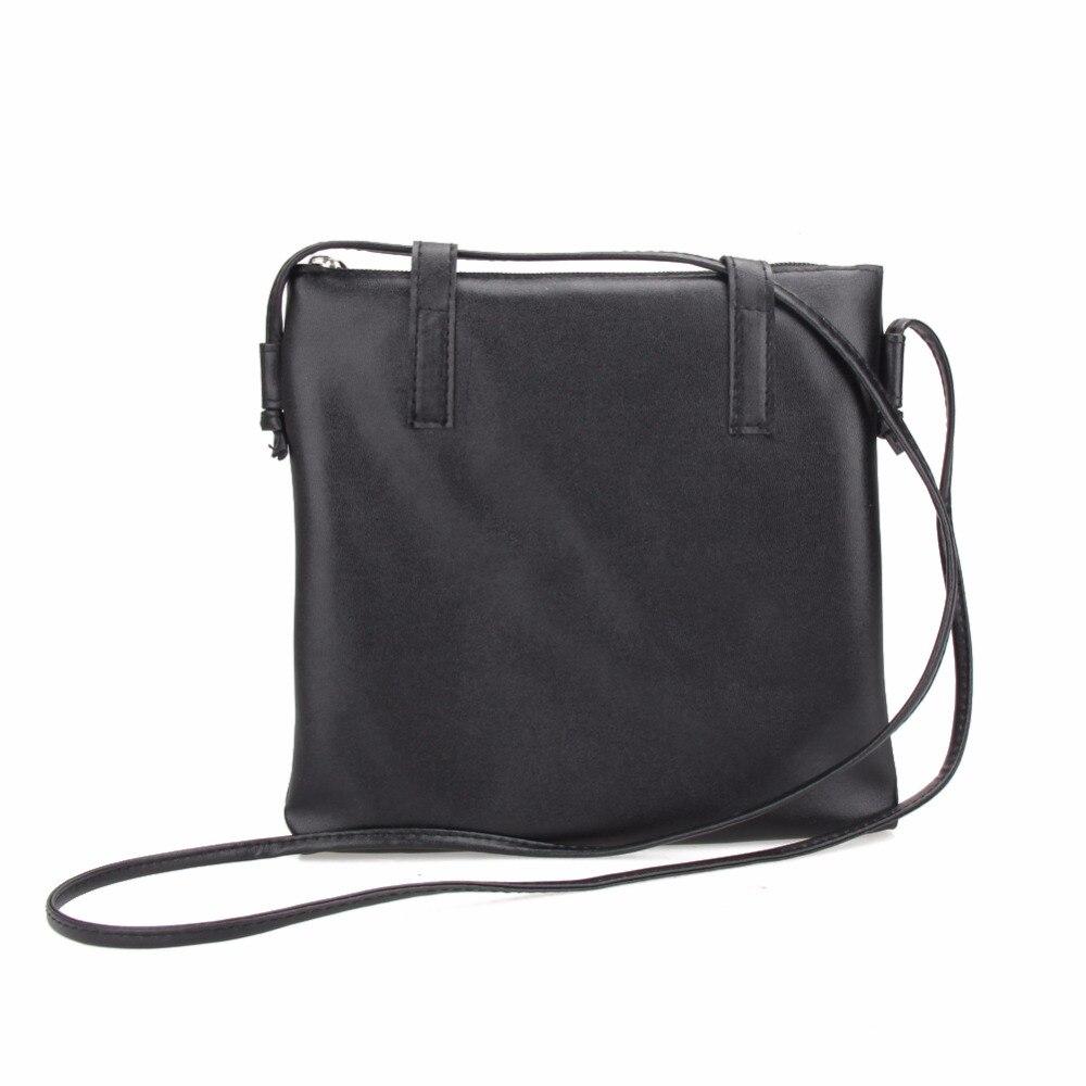 69ae1a0d3713 Простой Стиль Для женщин сумка из искусственной кожи Повседневное сумка Для  женщин Курьерские сумки женские Сумки на плечо крест Средства ..