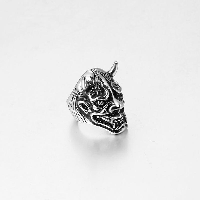 Кольца готический панк Байкер мужское кольцо фото