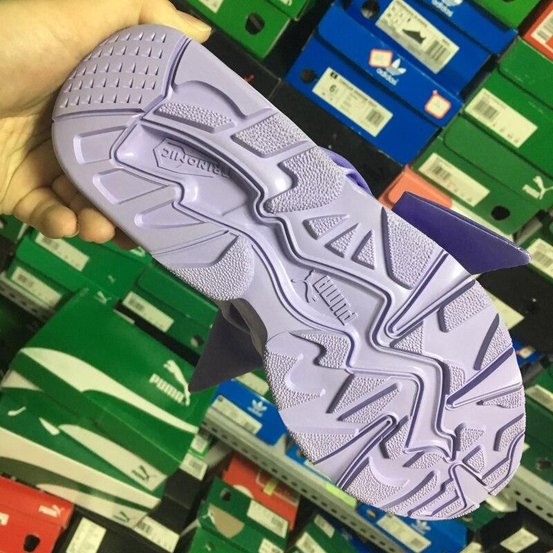 Рианна X Puma Фенти женская Лук Trinomic Кроссовки обувь розовый/фиолетовый/галстуки-бабочки Бадминтон Обувь size35-40