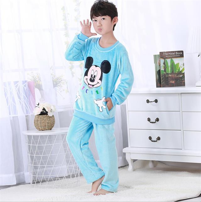 BOZIMEI 2018 Winter Home Wear Pajama Women Pajama Sets Coral Fleece Nighty  Sleepwear Cute Cartoon Dog ... 4b66e1b86