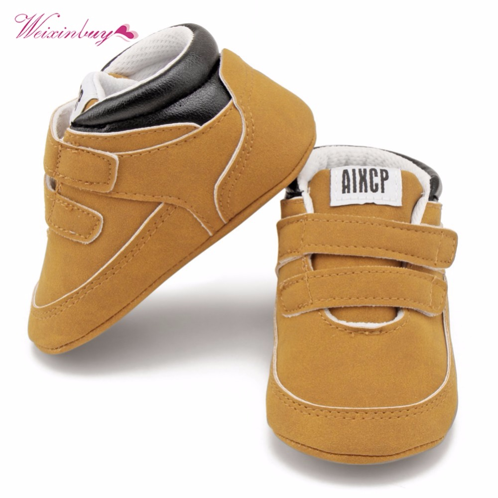 WEIXINBUY Infant Toddler Baby Shoes Fashion Fringed Newborn Kids Girls Boys Super Warm Shoes Soft Soled First Walkers Booties