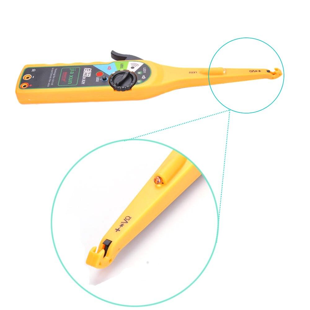 JIAXUN автомобильный диагностический тестер, ручка, Автомобильный светодиодный тестер электрической цепи, лампа, пробник, светильник, 0-380 Вольт