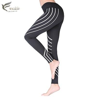 Freeskin Frauen Reflektierende Sporthose Schnell Trocken Fitness-Workout Kleidung Für Frauen Yoga Leggings Sexy Laufen und Fitness Hosen