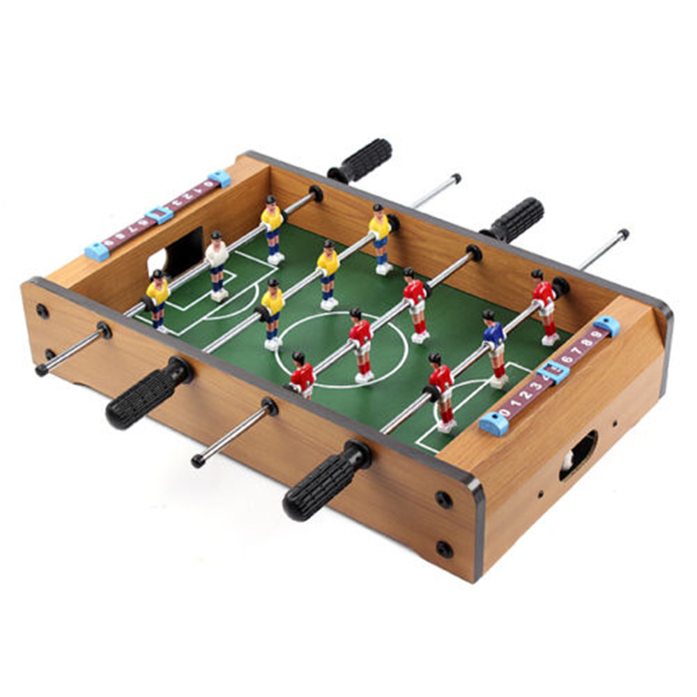 Funny Mini Table Soccer Hot Sale Foosball Board Game Home Table Soccer Set Football Toy Gift Game Accessories funny table blue