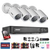 ANNKE 1080P 8CH HD TVI 4in1 DVR 2MP Outdoor IR Home Security Camera System 1TB