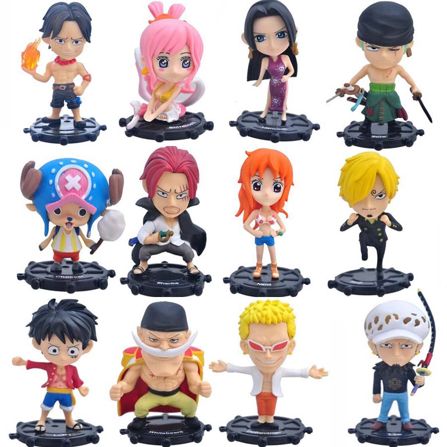 Good Quality <font><b>12</b></font> Style Anime ONE PIECE Action Figure Shirahoshi Ace Doflamingo Boa Hancock <font><b>Sexy</b></font> Nami Model Toy Gift Collectibles image