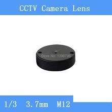 Factory direct infrared surveillance camera pinhole lens barrel cylinder-3.7mm M12 thread CCTV lens