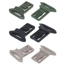 лучшая цена 2pcs/set Helmet Buckle Guide Rail Accessories Tactical Tackle Swivel Clips Airsoft Rail Connection Universal Replacement