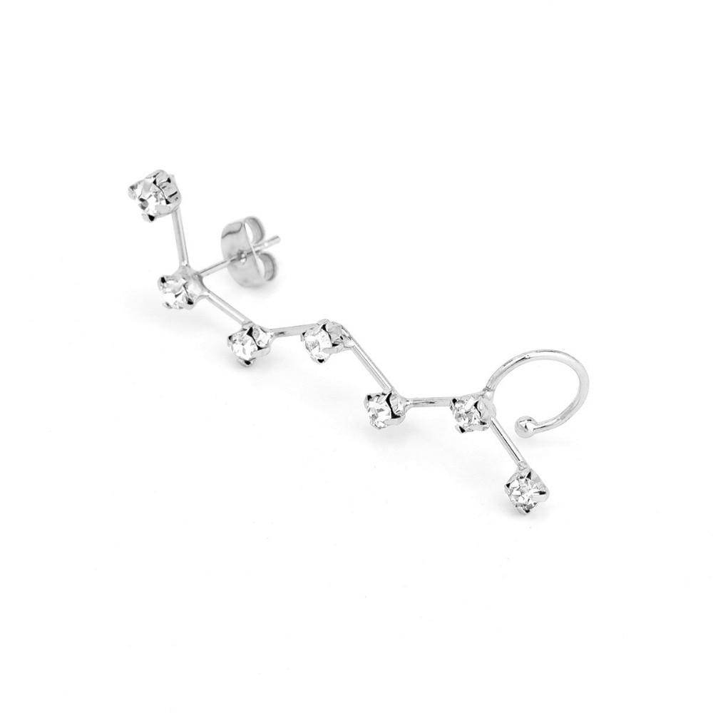 1pieces Novi vintage nakit Modni nakit kamena konstelacija dizajn uho - Modni nakit - Foto 3