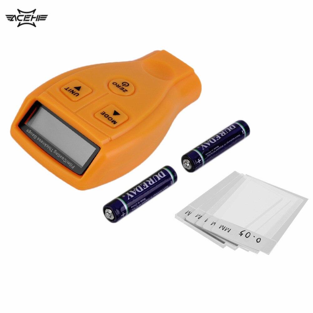 CHAUDE Numérique 0-1.8mm/0.01mm LCD Jauge D'épaisseur de Revêtement De Voiture Peinture Mètre D'épaisseur Auto Voiture épaisseur testeur De Diagnostic Outil