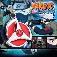 Hot Anime Naruto Akatsuki Itachi Uchiha Sharingan Kakashi Pendant High Quality Pendant Necklace Action Figure Cosplay Toys