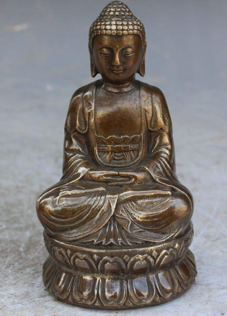 13cm Bronze Buddha 1