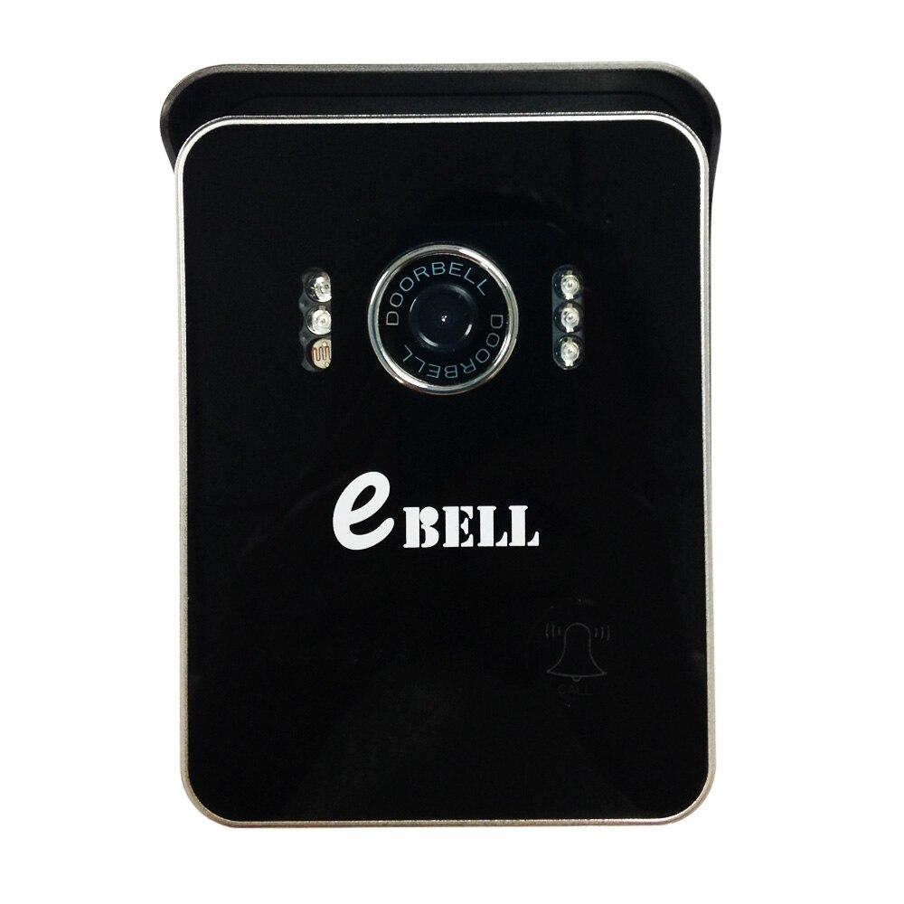 Ebell ATZ-DB004P WIFI Doorcam IR Wide Angle CMOS Sensor Wireless WIFI Doorbell Two Way Audio/Video/Mobile View IP Indoor Camera
