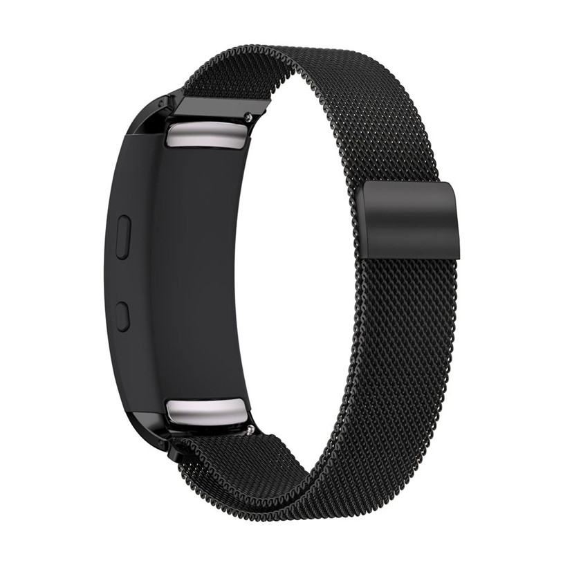 2018 Fashion Milanese Magnetic Loop Stainless Steel Band Strap Bracelet For Samsung Gear Fit2 Pro #0102 samsung gear fit в казани