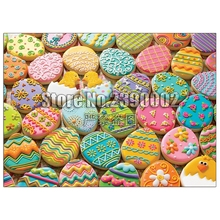 Easter Cookies 5D Diy Diamond Painting Cross Stitch Mosaic Embroidery Candy & Treat full Rhinestone Paintings