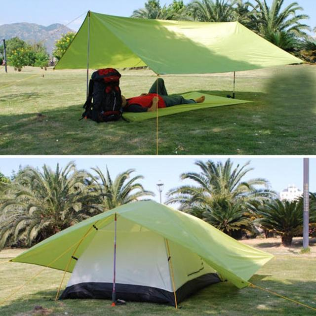Hot Sale Ultralight Sun Shelter Camping Mat Beach Tent Pergola Awning Canopy Oxford Tarp Sunshelter