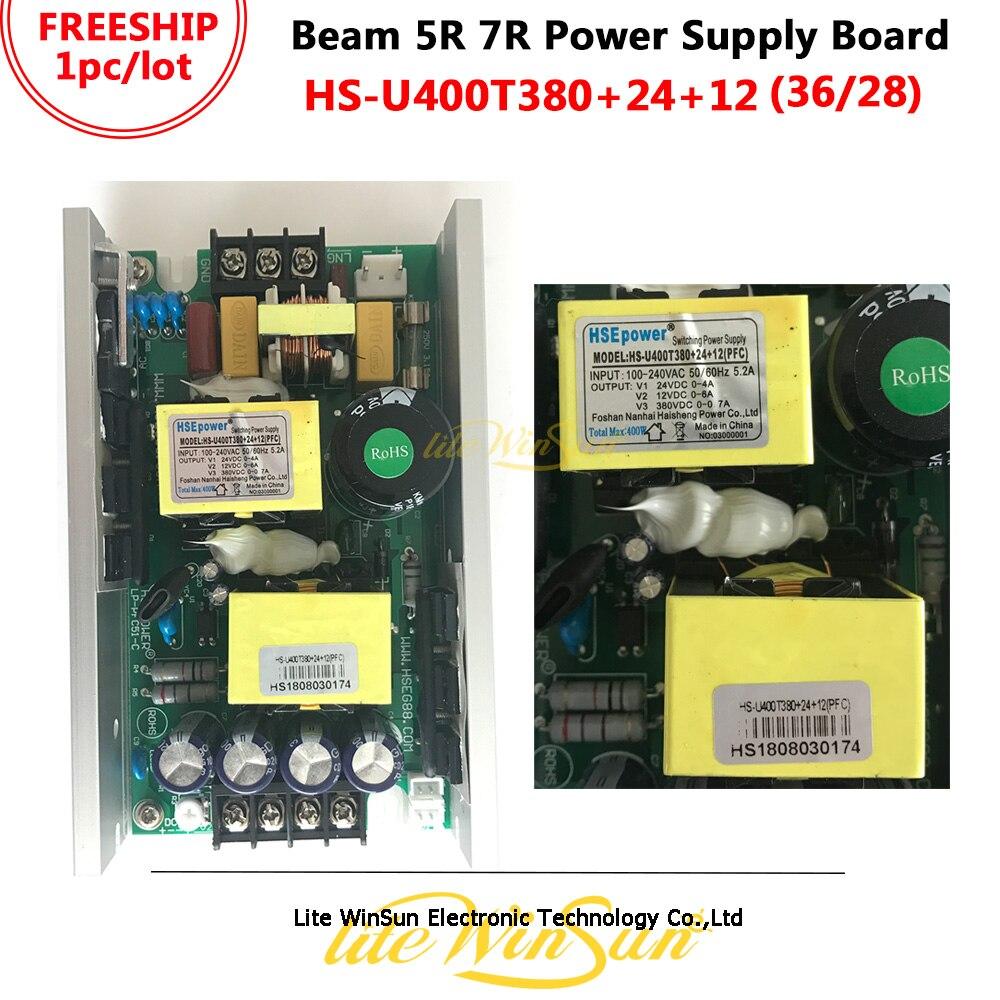 free shipping 7r 230w beam moving head 5r 200w power board supply 230 380v 28v 24v 12v 36v with suitable beam lamp Litewinsune Freeship HS Power Board for Beam 200W 230W 5R 7R Stage Lighting Output 380V 12V 24V