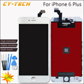 AAAA Quality High Definition Display For iPhone 6 Plus LCD Touch Screen With Digitizer Replacement No Dead Pixel Black White