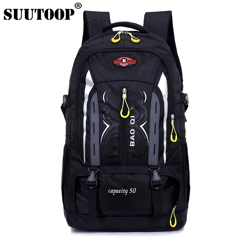2019 Unisex 50L Men Backpack Travel Pack Sports Bag Outdoor Bag Mountaineering Man Hiking Climbing Camping Backpack For Male