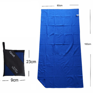 Image 1 - Zipsoft Car Wash Microfiber Towel Portable Super Absorbent Car Care Cleaning Detailing With bag Ultra Soft Drying Towel 80x160cm