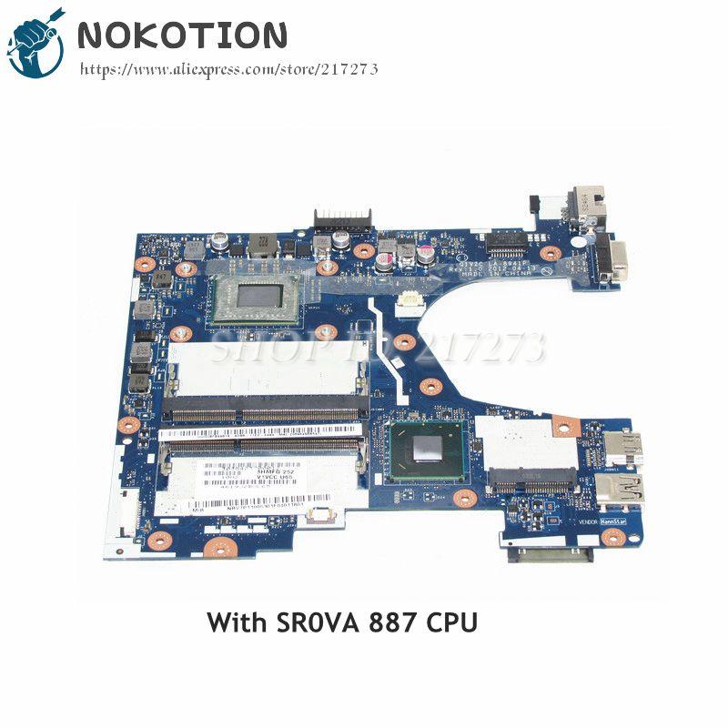 NOKOTION Laptop Motherboard For Acer aspire V5-131 Q1VZC LA-8941P SR0VA 887 CPU DDR3 NBV7P11005 NB.V7P11.005NOKOTION Laptop Motherboard For Acer aspire V5-131 Q1VZC LA-8941P SR0VA 887 CPU DDR3 NBV7P11005 NB.V7P11.005