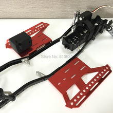 Metal Upgrade Parts Rc Car Side Step Running Board For SCX10 II NEW