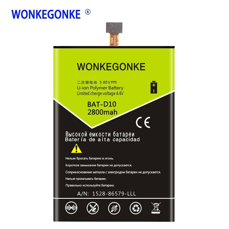 WONKEGONKE BAT-D10 CA325685G Battery For Acer Liquid Jade S Liquid Jade Z S56 S57 Lithium Polymer Batteries BateriaWONKEGONKE BAT-D10 CA325685G Battery For Acer Liquid Jade S Liquid Jade Z S56 S57 Lithium Polymer Batteries Bateria