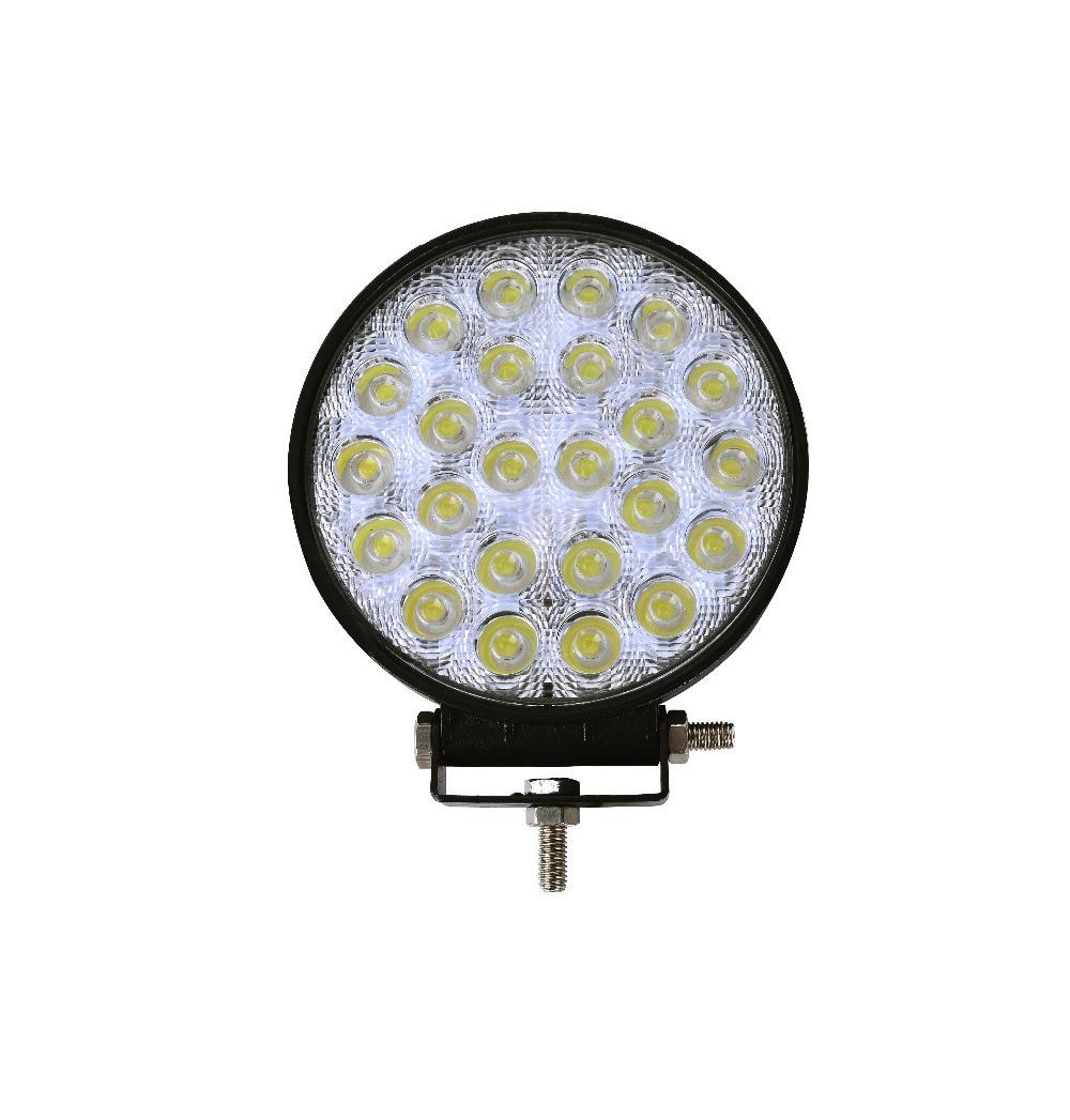 GERUITE 72W LED Spotlight მანქანის შუქნიშანი სატვირთო ავტომობილზე SUV Boating ნადირობა თევზაობა IP67 წყალგაუმტარი სამუშაო მსუბუქი მანქანები LED SpotLights