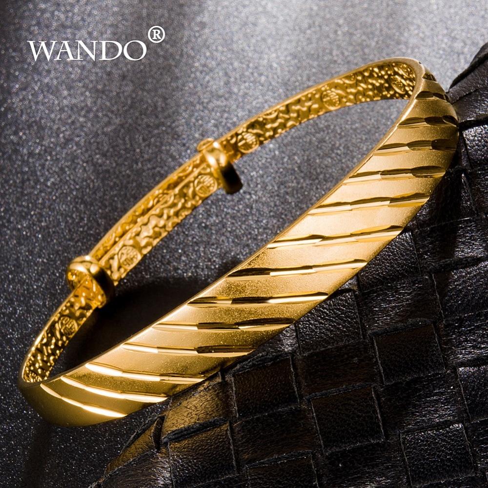 WANDO Trendy Dubai Gold...
