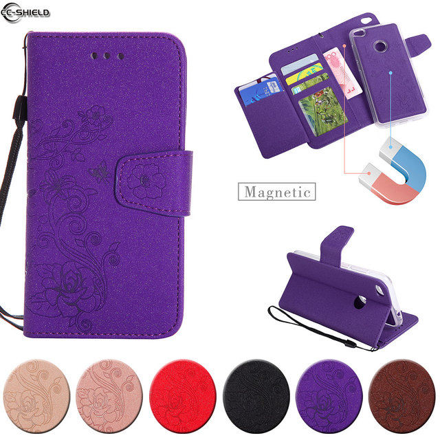 Flip Case For Huawei P8 Lite 2017 P9 Lite 2017 PRA-LX1 PRA-LA1 Case Phone Leather Cover For Honor 8 Lite PRA-TL10 PRA LX1 TL10