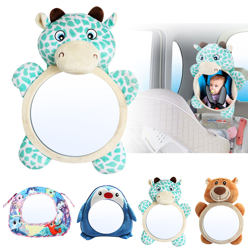 Baby-Monitor Mirrors Car-Back-Seat Safety Infant Rear Child Adjustable Kids For Toddler