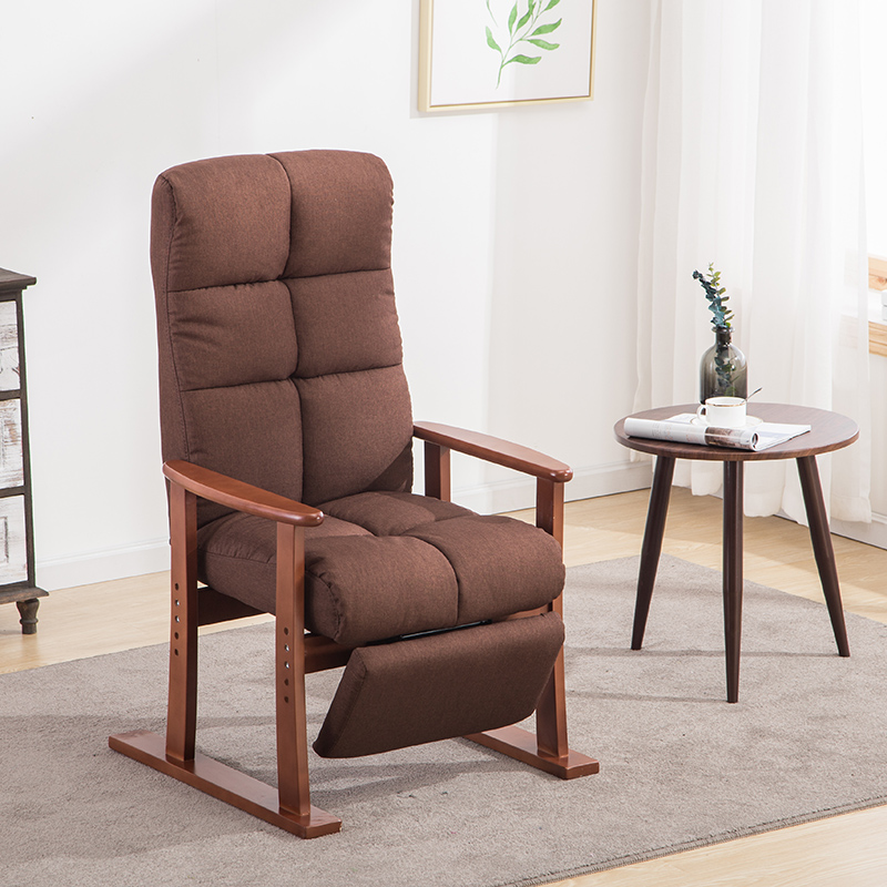 Modern Living Room Chair And Ottoman Fabric Upholstery Furniture Bedroom  Lounge Reclining Armchair With Footstool Accent Chair  In Living Room Chairs  From ...