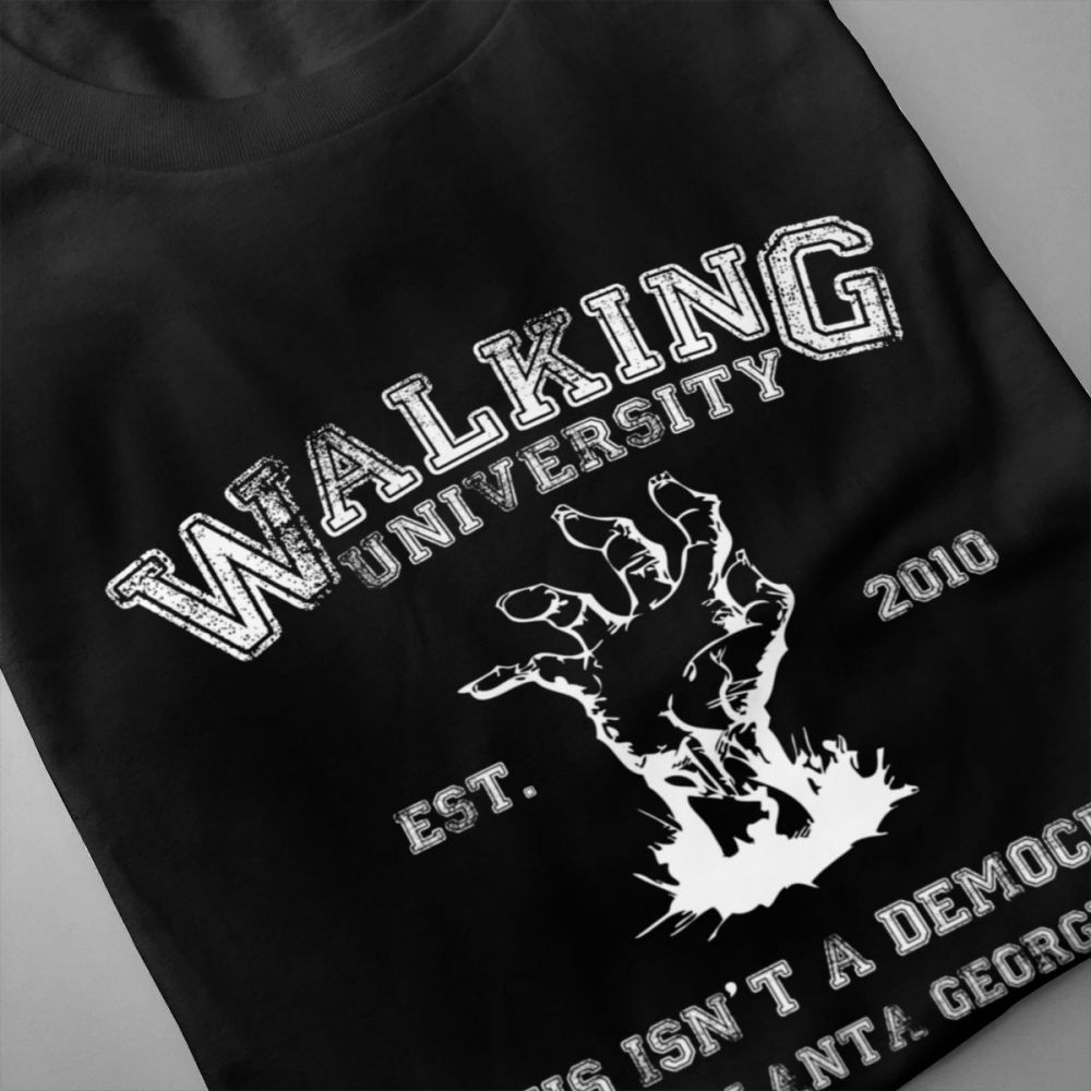 The Walking Dead T shirt Short Sleeve Unisex Man Free Shipping Custom Graphic Tee Shirt For Boy in T Shirts from Men 39 s Clothing