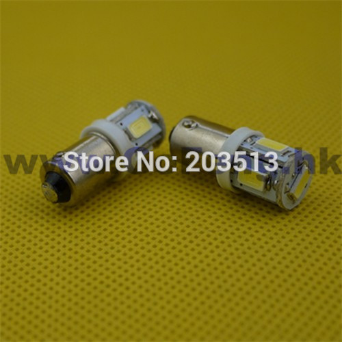 50pcs/lot in stock new products car led light G14 H6W BA9S 5SMD 5 SMD 5 led smd 5630 12v light bulb free shipping