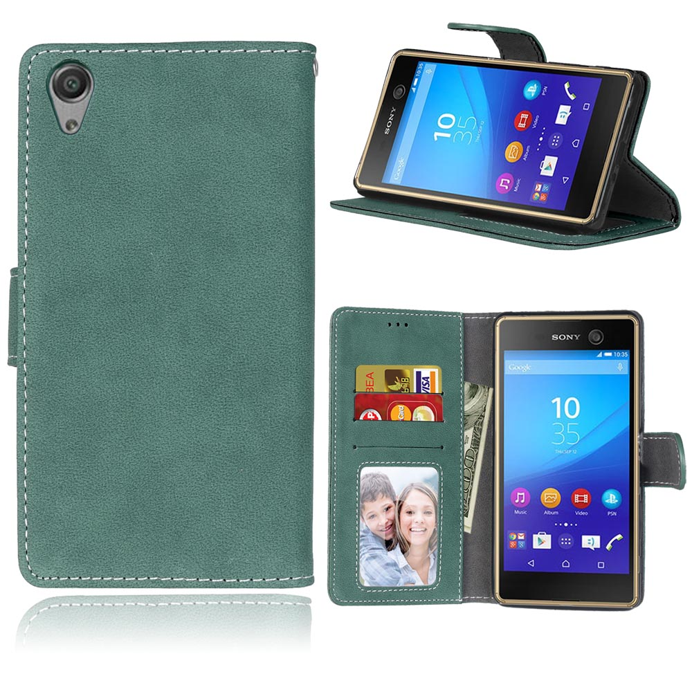 Flip Wallet Case Covers for Sony Xperia X Performance Dual F8132 5.0
