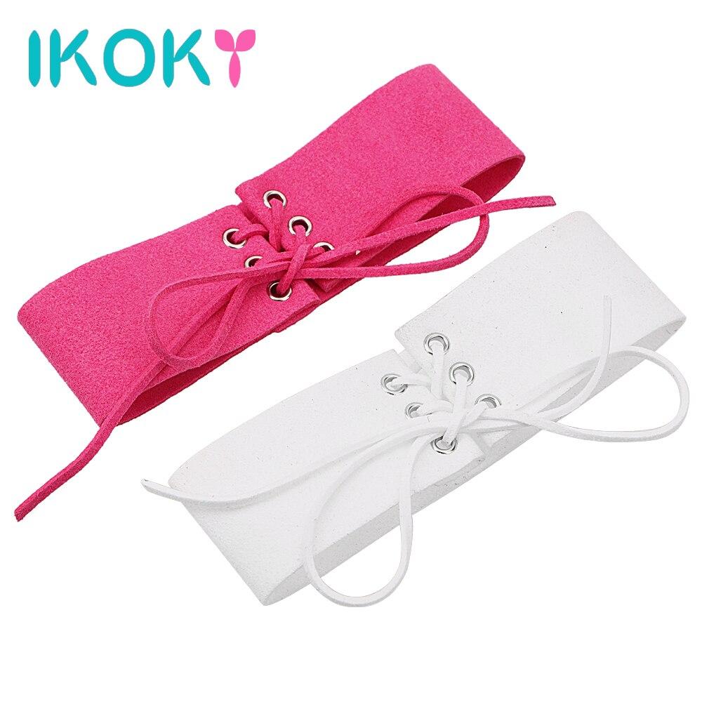 Buy IKOKY Erotic Toys Sex Toys Women Adult Games Neck Collar Bound Velvet Necklace SM Bondage Sexy Punk Style Slave Restraints