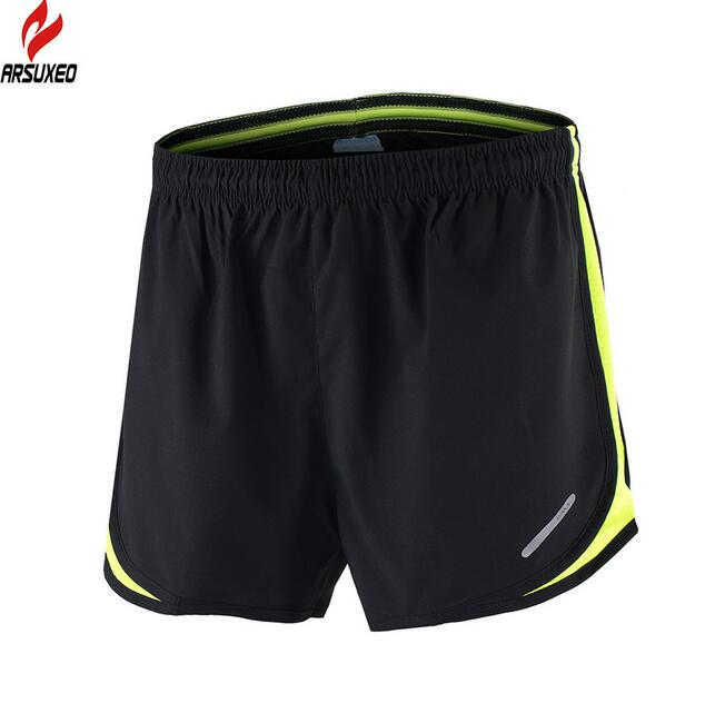 ARSUXEO MenS Fitness Sports Running Shorts Men Breathable Quick Drying Outdoor Summer