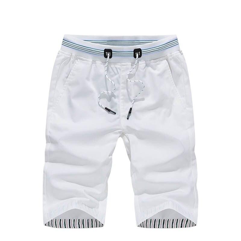 Verano Hombre 2019 Cordón Cortos De Sólido Pantalones Con Algodón Color Para Correr cKJlF3uT1